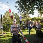 Der Jongliergarten für jung und alt