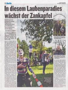 Bericht des Berliner Kuriers vom  11.3.2015